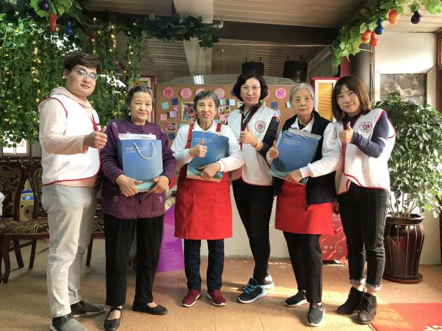 """天津利隆爱心公益志愿者探索神秘餐厅:""""忘不了餐厅"""""""