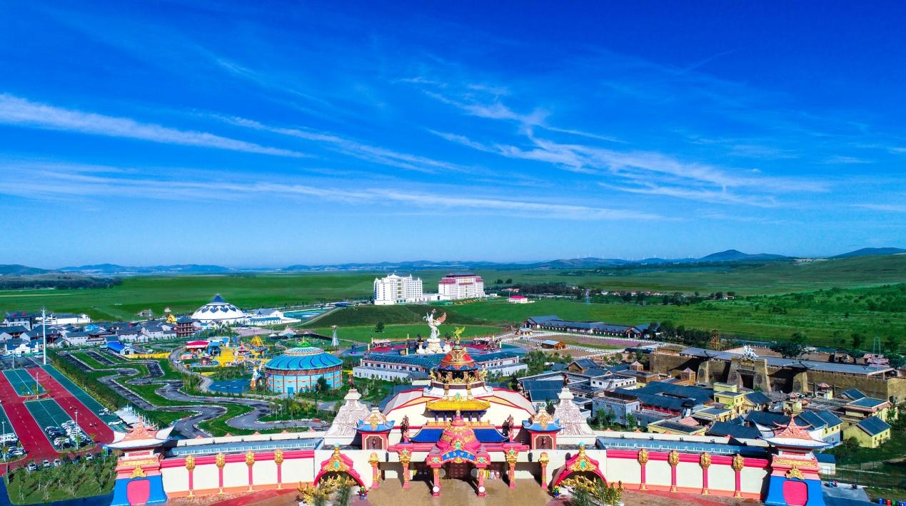 坝上草原中国马镇旅游度假区七一开园迎客